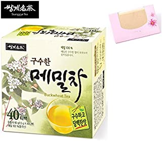 SoltreeBundle Organic Buckwheat Tea Korean 40 Tea bags + SoltreeBundle Oil Blotting Paper 50pcs