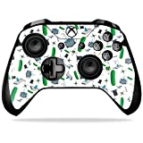 MightySkins Skin Compatible with Microsoft Xbox One X Controller - Science Cartoon | Protective, Durable, and Unique Vinyl wrap Cover | Easy to Apply, Remove, and Change Styles | Made in The USA