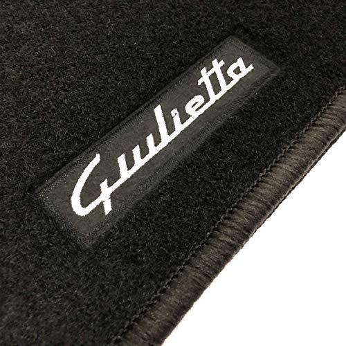 Alfombrillas Alfa Romeo Giulietta (2010-2014) a Medida Logo | Rey Alfombrillas®