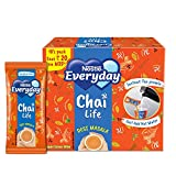 Instant tea pre-mix that allows you to enjoy authentic chai every day Contains a composite mixture of milk, sugar and tea extracts Also contains added masala flavour for an invigorating aroma and taste Just add hot water and stir for an instant cup o...