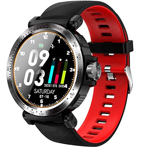 JIAJBG Inteligente Reloj de Los Deportes de Presión Mujeres Hombres Android Ios Ritmo Cardíaco Sangre de Fitness Al Aire Libre Rastreadores de Montaña Que Recorre Reloj de Pulsera D