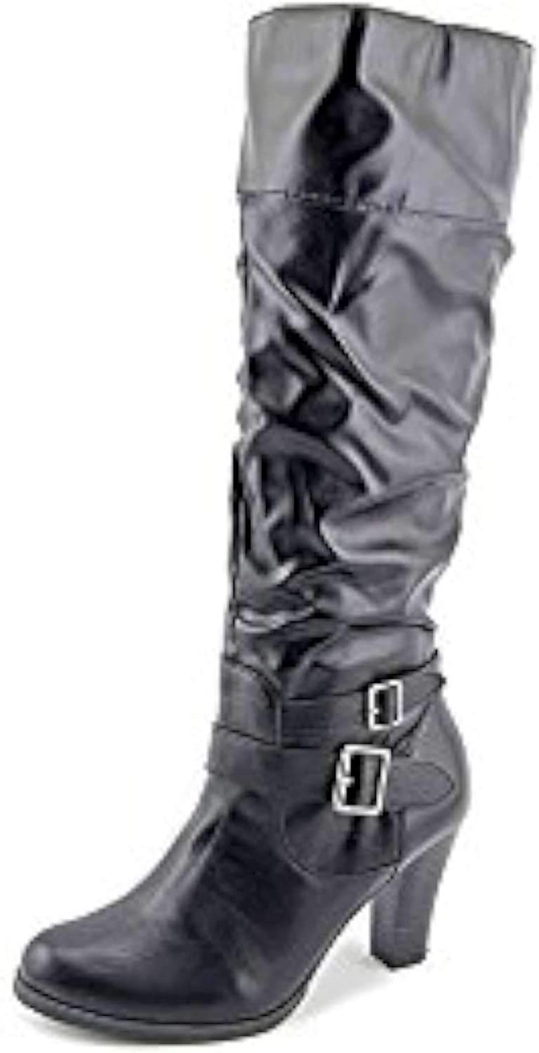 Style & Co. Womens Sophiie Closed Toe Over Knee Fashion Boots, Black, Size 8.0