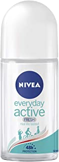NIVEA Everyday Active Fresh Roll-on Anti-Perspirant Deodorant, 50ml