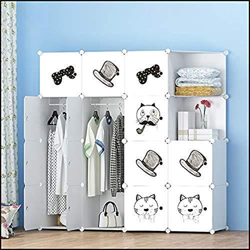 Haushaltsprodukte Tragbarer Kleiderschrank Aufbewahrungsschrank Kommoden für Schlafzimmer Tragbarer Kleiderschrank Kleiderschränke Kleidung Kleiderschrank Schlafzimmer Schrank Aufbewahrungsorganisa