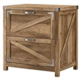 Cottage Grove 2 Drawer Lateral File Cabinet in Reclaimed Pine - Engineered Wood