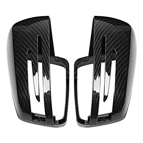 EBTOOLS - Custodia per specchietto laterale in fibra di carbonio, 2 pezzi, per specchietto retrovisore, adatto per classe A W176 2012-2017