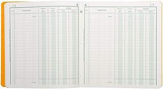 Exacompta - Réf. 950E - 1 Piqûre position de compte 21x19cm 80 pages - couleur aléatoire