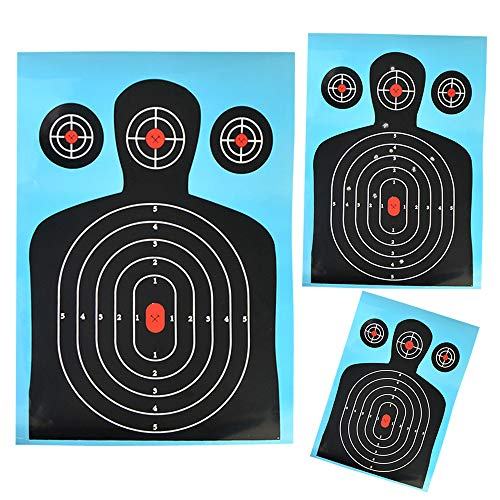SHARROW 12pcs Target Paper