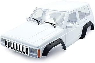 Shaluoman Hard Plastic 12.3 Inch/313mm Wheelbase Cherokee Body Car Shell for 1/10 RC Crawler Axial SCX10 & SCX10 II 90046 90047 Traxxas TRX4 Kit