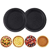 Product Description: silicone perforated pie/tart mould, 5 inch, package includes 2 pieces of mould. High Quality: Our pie/tart pan is made of superior liquid silicone imported from Germany and fiberglass, which meets international food standards. Th...