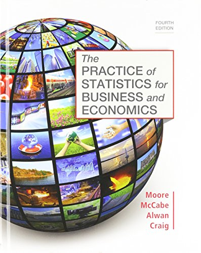 Practice of Statistics for Business and Economics 4e & LaunchPad for Moore's The Practice of Statistics for Business and
