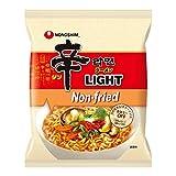 農心 辛ラーメン ライト LIGHT 4袋セット 日本語パッケージ | 韓国 辛ラーメンの第3世代 ノンフライ 乾麺 カロリーオフ 糖質オフ 韓国食品 韓国ラーメン | 国内正規品