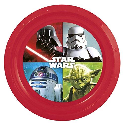 Boyztoys Piatti di plastica, Motivo: Star Wars