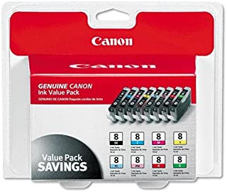 Canon 0620B015 InkJet Cartridge MultiPack, Works for PIXMA iP6600D, PIXMA iP6700D, PIXMA MP500, PIXMA MP530