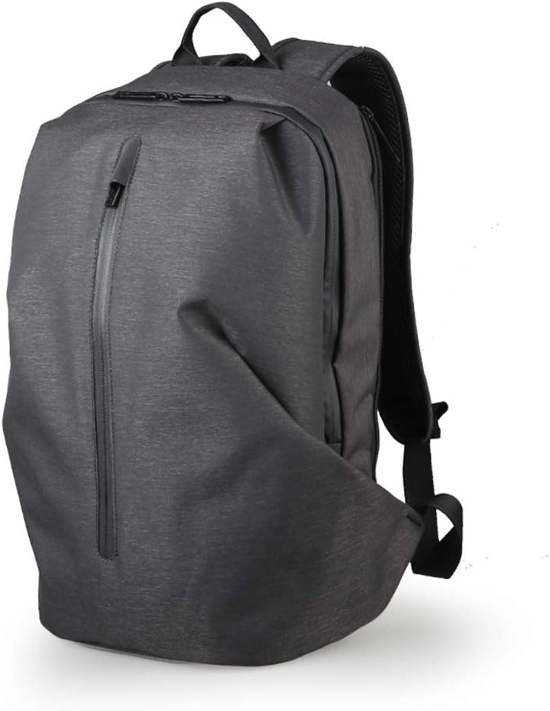 Schultertasche Freizeit Rucksack 15,6  Pc Tasche Reisetasche 32 x 18 x 48cm Dunkelgrau