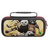 Kung Fu Panda - Funda de transporte para Nintendo Switch Lite, embrague portátil con soporte para tarjeta de juego