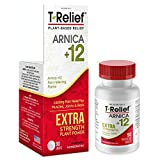 MediNatura T-Relief Extra Strength Pain Relief With Arnica + 12 Plant-Based Pain Relievers - 90...