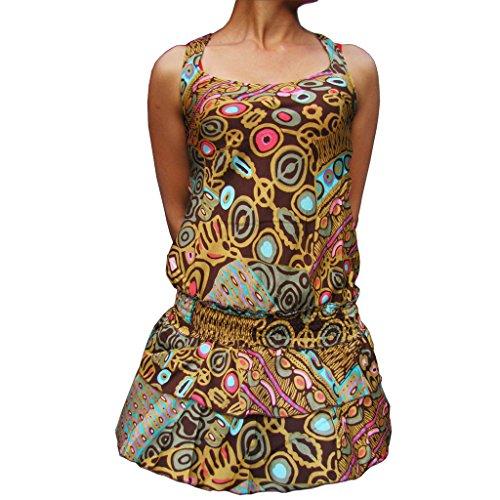 PANASIAM Dress, BkIndi1007' in Brown
