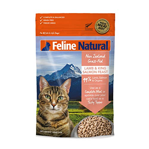 Freeze Dried Cat Food By Feline Natural – Chicken & Lamb
