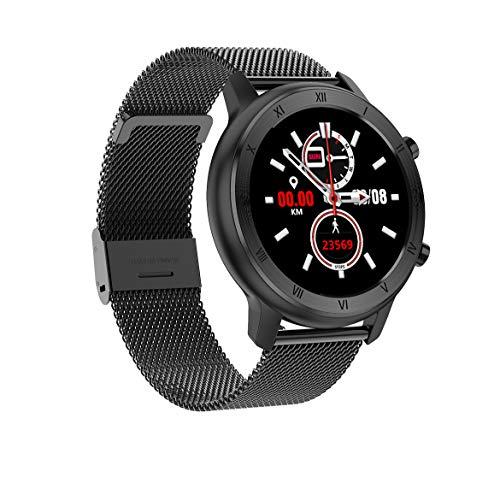 LC.IMEEKE Smartwatch, IP68 Fitness Armbanduhr mit Blutdruck Messgeräte,Pulsoximeter,Pulsuhren,Stoppuhr, Fitness Tracker Sportuhr Schrittzähler Uhr für Damen Herren Smart Watch für iOS Android Handy