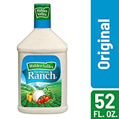 DIP, DRIZZLE, DUNK: Add Original Ranch to more than just veggies - add it to chicken or pasta as a flavorful topping for an easy, delicious meal. GLUTEN FREE: Perfect for school lunches or backyard BBQs, this classic gluten-free dressing is a crowd p...