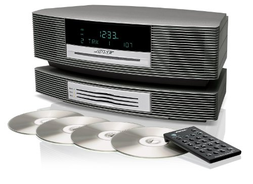 Wave Music System III with Multi-CD Changer - Titanium Silver