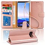 Arae Wallet Case Compatible for Samsung Galaxy Note 8 with...