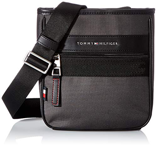 Tommy Hilfiger ELEVATED NYLON, Sac Homme, Pewter Grey,...