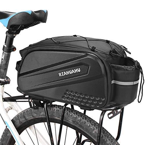 Lixada Fahrradtaschen Gepäckträgertaschen 7L-10L Fahrradträger Tasche Wasserabweisend Fahrrad Rücksitz Tasche Fahrrad Kofferraum Cargo Pack mit Schultergurt