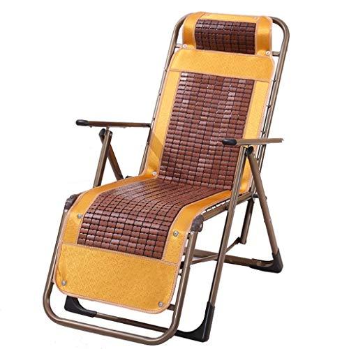 KHL Nouvelle Chaise de Loisirs inclinable Zero Gravity Leisure Chair inclinable Chaise Longue adapté au Jardin Coussin Pliant extérieur Zone de la Piscine intérieure Chambre (Size : B)