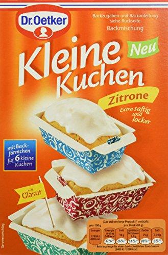Dr. Oetker Kleine Kuchen Zitrone, 8er Pack (8 x 290 g)
