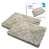 HQRP 2-pack Filter Pad compatible with Lennox Healthy Climate #35 X2661 fits HCWB3-17, HCWB2-17, HCWP2-18, HCWP3-18, WB2-17, WB3-17, WP2-18, WP3-18 series Humidifiers