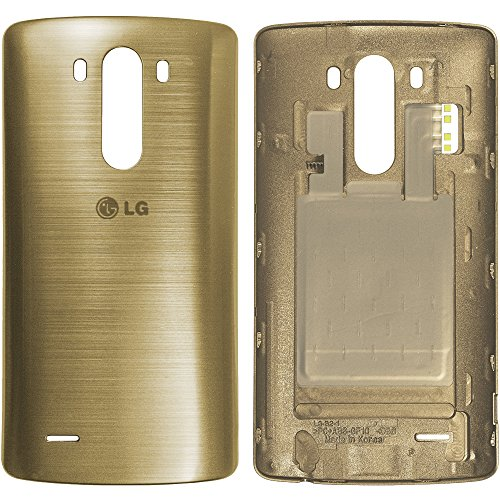 LG G3 D855 Akkufachdeckel ACQ87482403, Battery Cover, Backcover, Batterycover, Akkudeckel, Batterieabdeckung, Cover Rückseite, Battery Cover - Gold