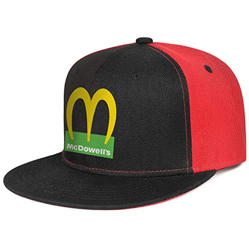 Coming-to-America-Movie-McDowell's-2021- Boys Cowboy Outdoor Cap ColorName Playing Hat