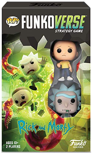 FUNKOVERSE STRATEGY GAME RICK