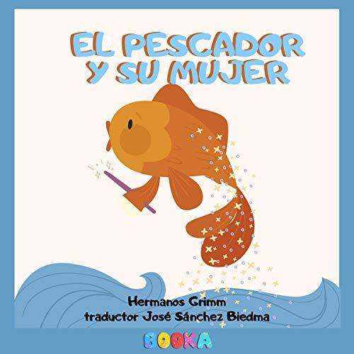 Diseño de la portada del título El pescador y su mujer