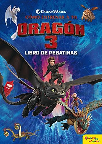 Cómo entrenar a tu dragón 3. Libro de pegatinas (Dreamworks. Cómo entrenar a tu dragón)