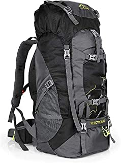Hiking Backpack 60L Lightweight Water Reasistant Trekking Bag Durable Outdoor Sport Daypack for Climbing Travel Cycling