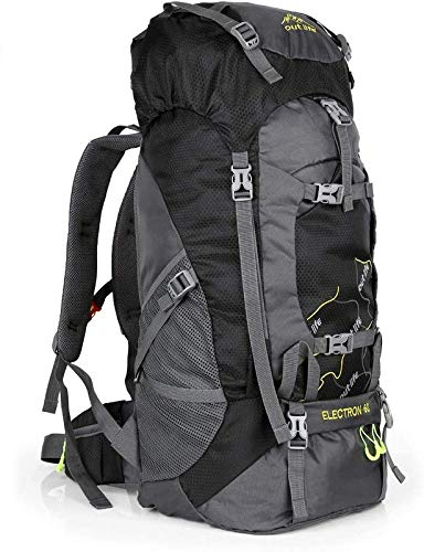 OUTLIFE Hiking Backpack 60L Lightweight Water Reasistant Trekking Bag Durable Outdoor Sport Daypack...