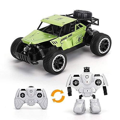 wangch RC truck1: 18 aleación de alta velocidad todoterreno coche de escalada coche de control remoto 2.4G drift toy racing todo terreno antichoque y anti-caída coche RC mejor para adultos y niños