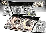 Shop Import Paire de Feux phares Passat B5 3B 96-00 Angel Eyes Chrome (W25)