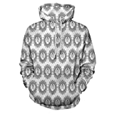 Black and White Fashion Hoodie Hooded Ornamental for Men/Women