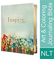 Inspire Bible: NLT Leatherlike, Multicolor, The Bible for Coloring & Creative Journaling