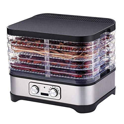 Find Bargain Food Dehydrator Dryer, Timer up to 48 Hours, Dehydrator Machine with 5 BPA-Free Tiers &...