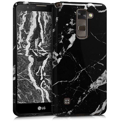 kwmobile LG Stylus 2 Hülle - Handyhülle für LG Stylus 2 - Handy Case in Schwarz Weiß