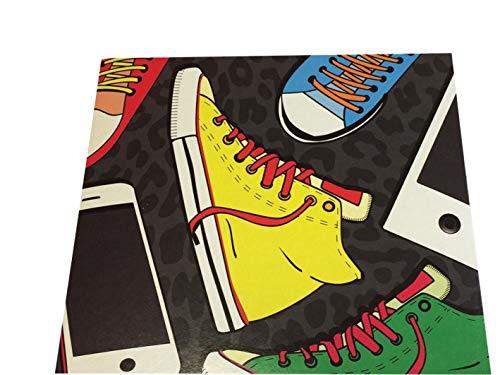 1x25 Daiber Sneaker/Ipod 13x18 Kinder Portraitmappen 13319