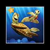 Stick It On Your Wall Findet Nemo–Squirt & Crush Mini