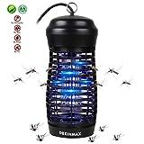 dekinmax lampada anti zanzara uv zanzariera elettrica lampada anti zanzare lampada insetticida per interno ed esterno giardino campeggio (9w)