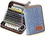 Best RFID Wallets - FurArt Credit Card Wallet, Zipper Card Cases Holder Review