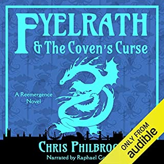 Fyelrath & the Coven's Curse audiobook cover art